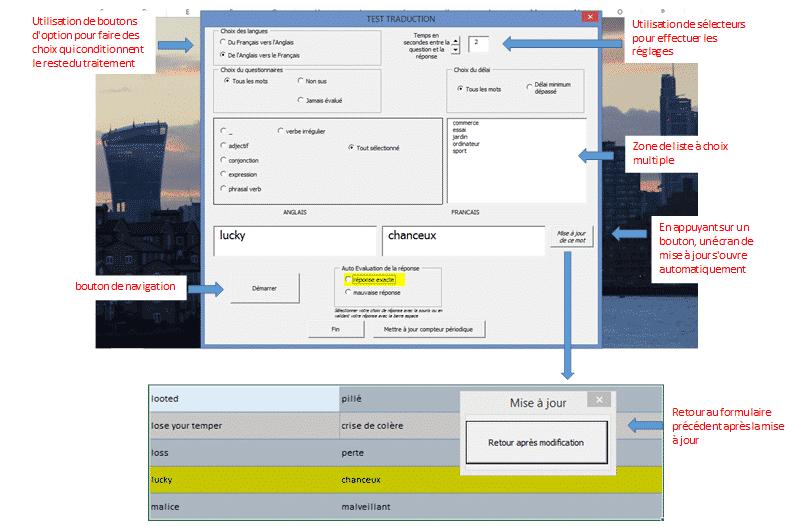 Formulaire de saisie sous Excel