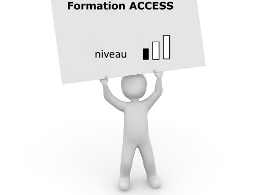 Formation Access – Créer et utiliser une base de données