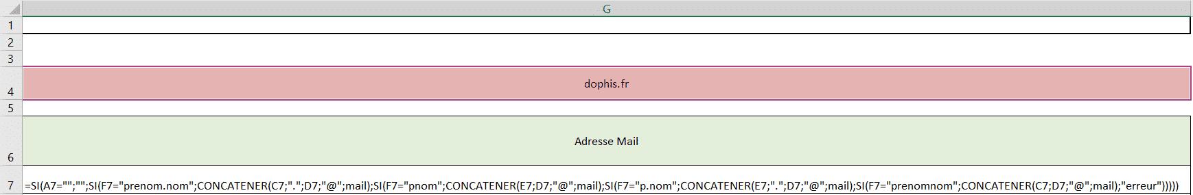 liste mail si