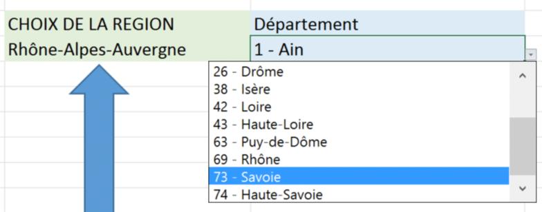 liste-choix-departement-excel